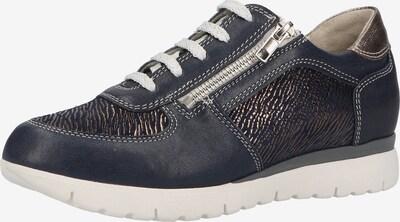 Marc Shoes Sneaker in dunkelblau / rosegold, Produktansicht