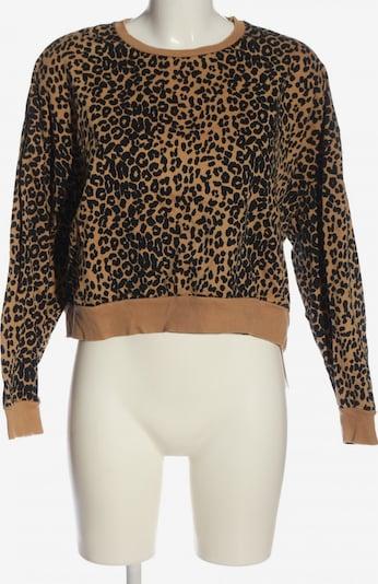 JUST FEMALE Sweatshirt in XS in braun / schwarz, Produktansicht