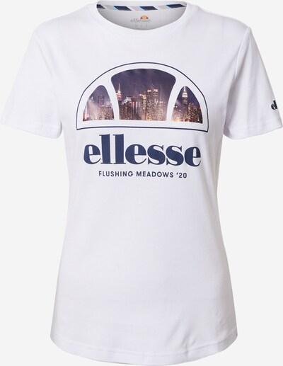 ELLESSE T-Shirt 'Steinway' in mischfarben / weiß, Produktansicht