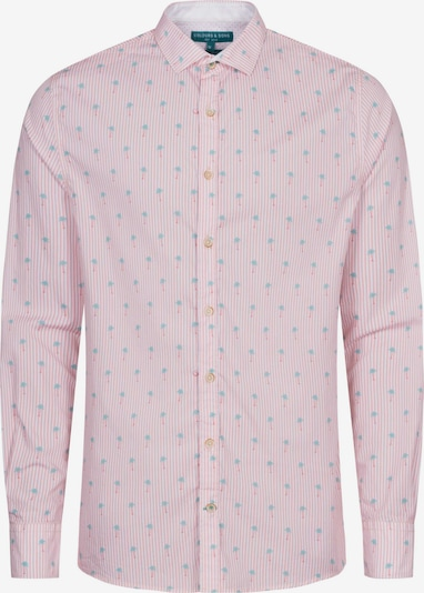COLOURS & SONS Langarmhemd 'PETER' in pink / rosa, Produktansicht