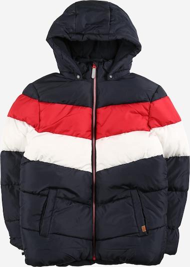 NAME IT Zimska jakna u mornarsko plava / crvena / bijela, Pregled proizvoda