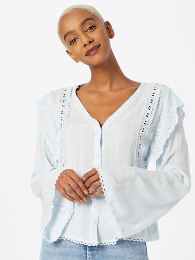 Pimkie Bluse 'SVOLAPIA' in azur, Modelansicht