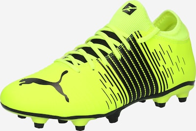 PUMA Chaussure de foot 'FUTURE Z 4.1 FG/AG' en jaune fluo / noir, Vue avec produit