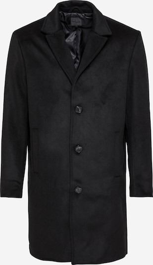 Mennace Between-seasons coat in black, Item view