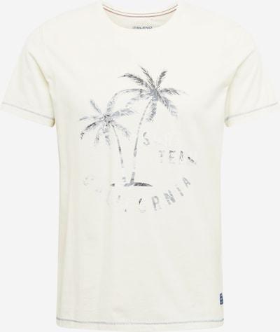 BLEND Camiseta en gris / gris oscuro / blanco, Vista del producto
