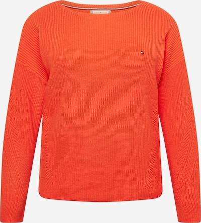 Tommy Hilfiger Curve Pullover 'HAYANA' in orangerot, Produktansicht
