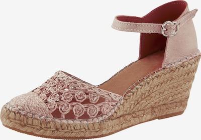 heine Sandale in beige / rosé, Produktansicht