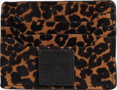 Superdry Etui in de kleur Bruin / Zwart, Productweergave