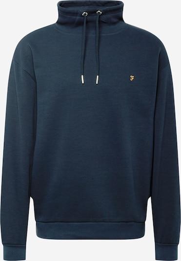 FARAH Sweatshirt 'HARBORDALE' in dunkelblau / goldgelb, Produktansicht