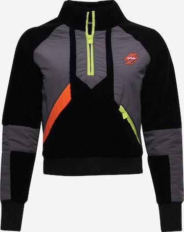 Superdry Athletic Sweatshirt in Black