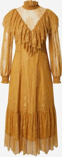 EDITED Robe 'Tanita' en jaune / moutarde, Vue avec produit