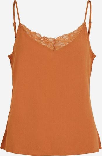 VILA Haut en orange, Vue avec produit