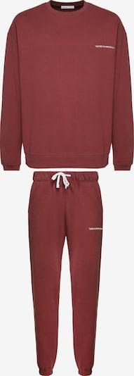 Grimelange Sweatanzug in braun / rot / rostrot, Produktansicht