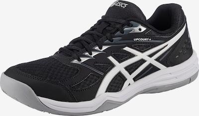 ASICS Sportschuh 'Upcourt 4' in schwarz / weiß, Produktansicht