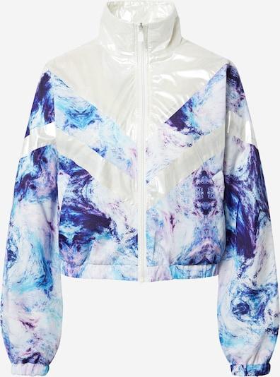 Pimkie Jacke in blau / aqua / weiß, Produktansicht