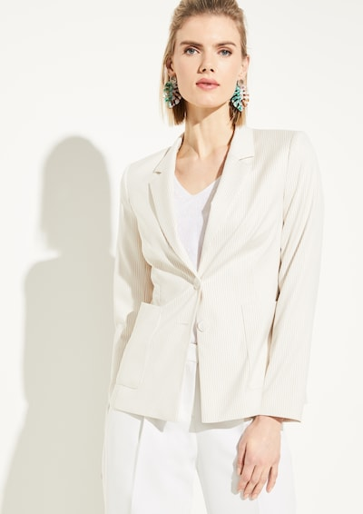 COMMA Blazer in beige, Modelansicht