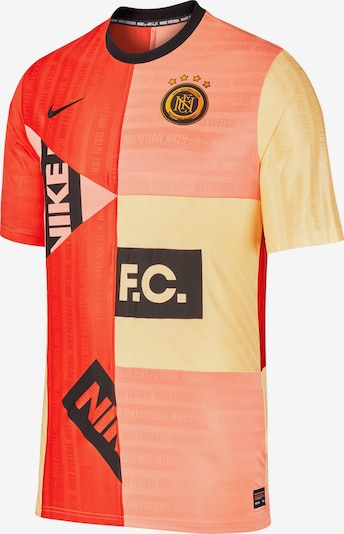NIKE T-Shirt in gelb / schwarz, Produktansicht