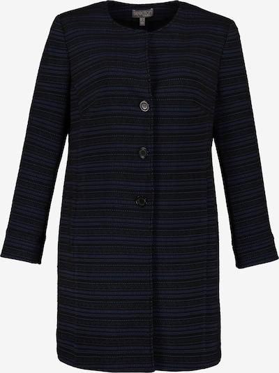 Ulla Popken Strickjacke in blau / schwarz, Produktansicht