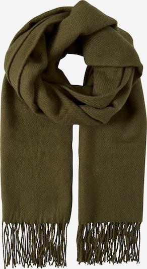 ICHI Schal 'VARINA' in khaki / dunkelgrün, Produktansicht