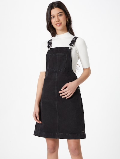 TOM TAILOR DENIM Kleid  in schwarz, Modelansicht