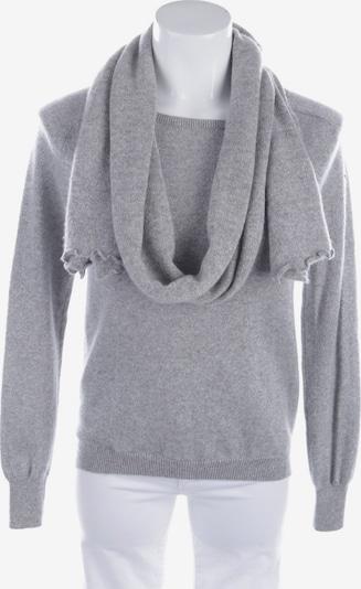 HERZENSANGELEGENHEIT Pullover und Schal in S in grau, Produktansicht