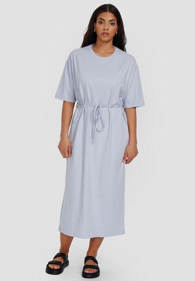 Cotton Candy Sweatkleid 'USRA' in blau, Modelansicht