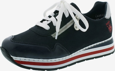 RIEKER Zapatillas deportivas bajas en azul oscuro, Vista del producto