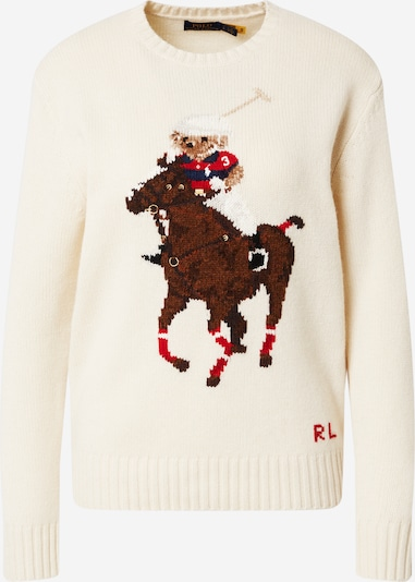 Polo Ralph Lauren Pulover | kremna / mešane barve barva, Prikaz izdelka