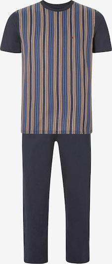 Jan Vanderstorm Pyjama 'Bendik' in marine / mischfarben, Produktansicht