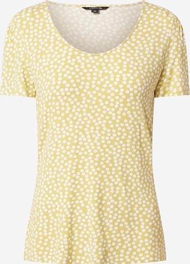 COMMA Shirt in de kleur Geel / Wit, Productweergave