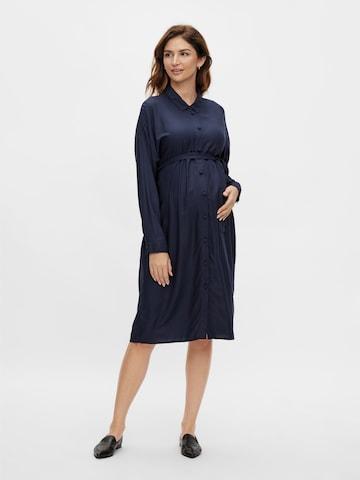 Rochie tip bluză de la MAMALICIOUS pe albastru