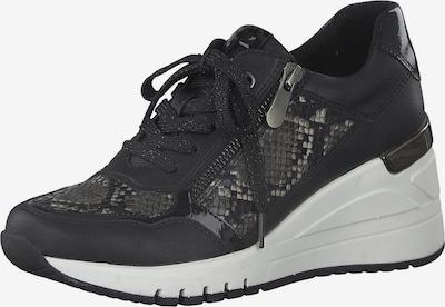MARCO TOZZI Sneaker in grau / hellgrau / schwarz, Produktansicht