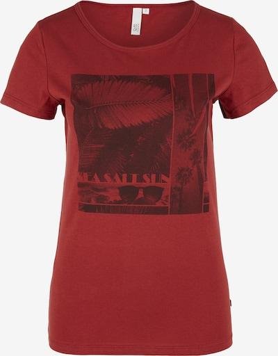 Q/S designed by Jerseyshirt in rot, Produktansicht