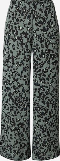 Pantaloni 'SAGA' VERO MODA di colore smeraldo / nero / bianco, Visualizzazione prodotti