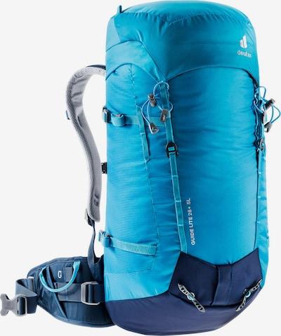DEUTER Sportrucksack 'Guide Lite 28+ SL' in cyanblau, Produktansicht