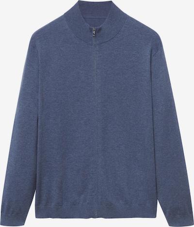 Geacă tricotată 'Tenc' MANGO MAN pe albastru porumbel, Vizualizare produs