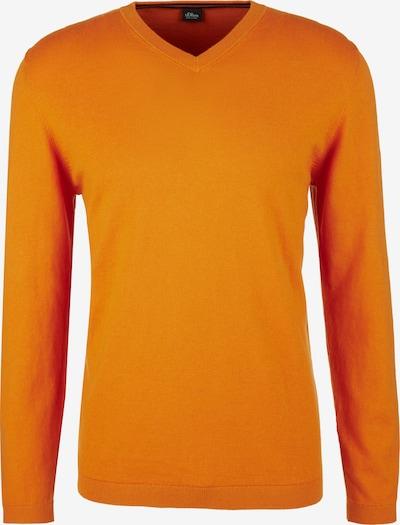 s.Oliver BLACK LABEL Pull-over en orange, Vue avec produit