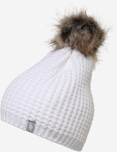 4F Mütze in weiß, Produktansicht