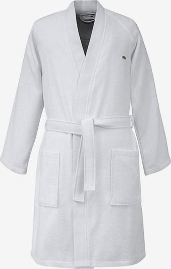 LACOSTE Bademantel 'Defile' in weiß, Produktansicht
