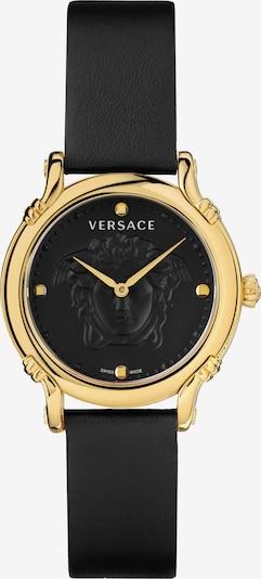 VERSACE Uhr in gold / schwarz, Produktansicht