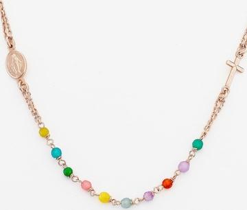 Amen Damen-Kette 925er Silber 'Jade' in Pink
