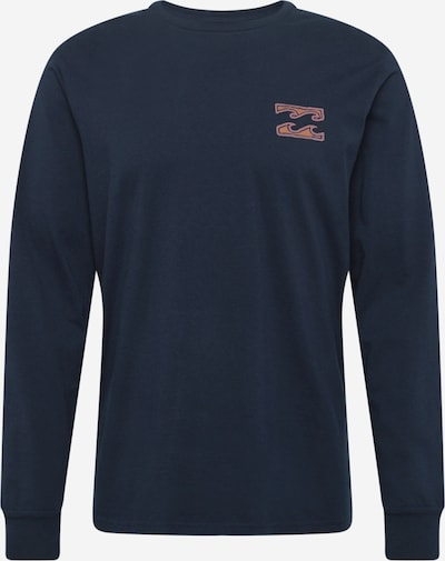 BILLABONG Tričko - dymovo modrá / tmavomodrá / oranžová, Produkt
