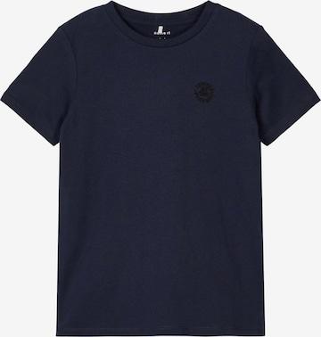NAME IT T-shirt 'Tano' i blå