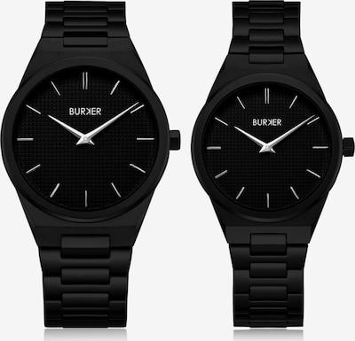 BURKER Watches Analoog horloge 'Adam & Eve Classic Link Black' in de kleur Zwart, Productweergave