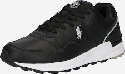 POLO RALPH LAUREN Sneaker low 'PONY' i sort / hvid, Produktvisning