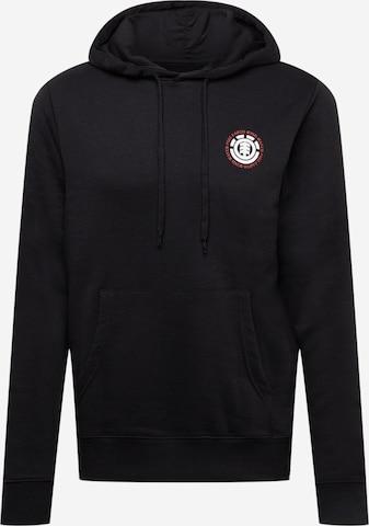 ELEMENT Sportsweatshirt i svart