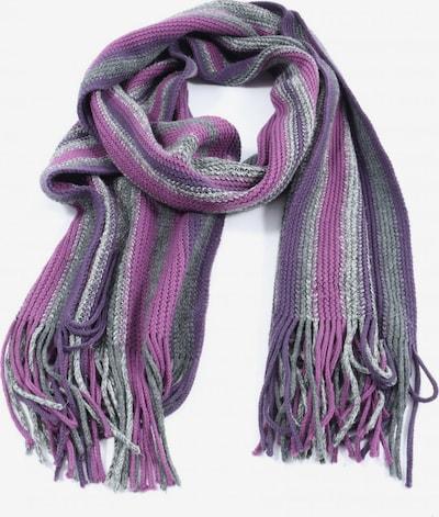 17&co. Fransenschal in One Size in hellgrau / lila / pink, Produktansicht