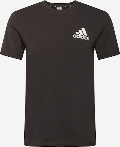 ADIDAS PERFORMANCE Sporta krekls melns / balts, Preces skats