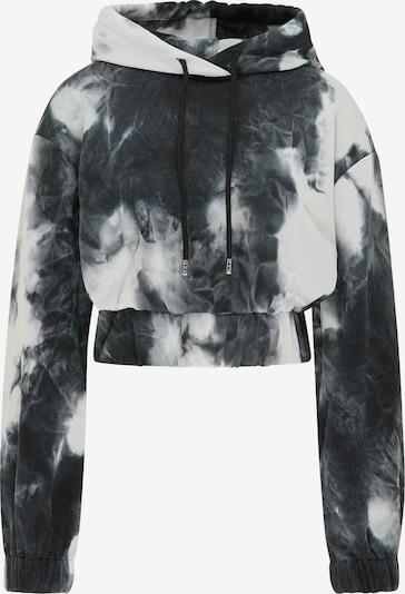 myMo ATHLSR Sweatshirt in schwarz / weiß, Produktansicht