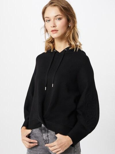 GUESS Sweater majica 'Mabel' u crna: Prednji pogled